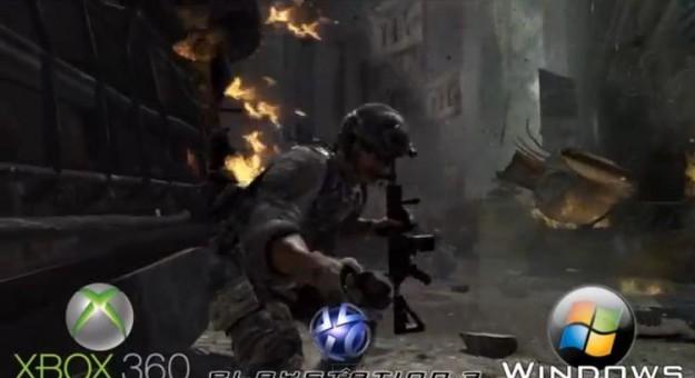 Confronto a tre per Modern Warfare 3