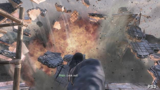 Esplosione su PS3