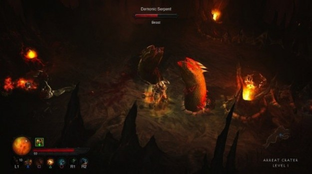 Screenshot di Diablo 3