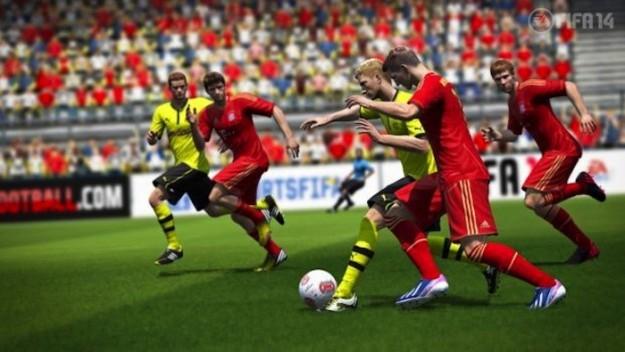 Screenshot di FIFA 14