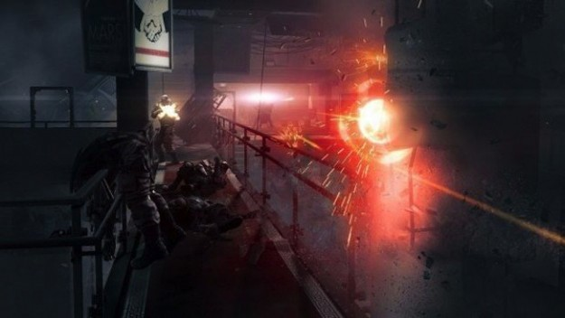 Fuoco in Wolfenstein The New Order