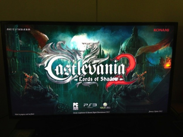 La prima immagine di Castlevania Lords of Shadow 2
