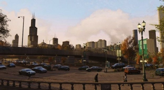 Ambientazione di Watch Dogs