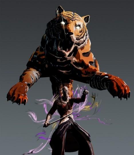 Tigre di Killer is Dead