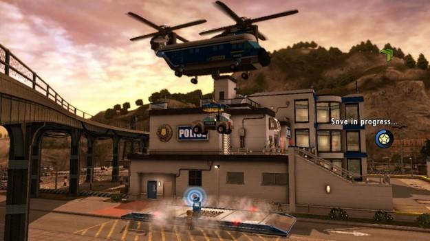 Stazione di polizia in Lego City Undercover Wii U