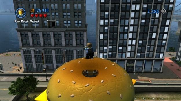 Città in Lego City Undercover Wii U