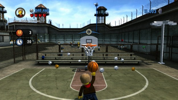 Basket in Lego City Undercover Wii U