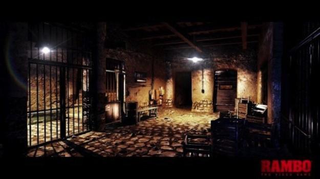 Ambientazione di Rambo The Videogame