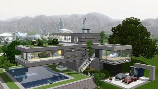 The sims 3 espansioni into the future e movie stuff foto for Case the sims 3 arredate