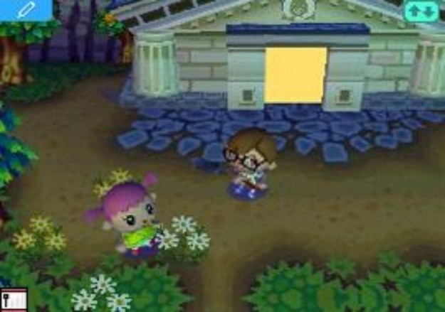 Ambientazione di Animal Crossing Wild World