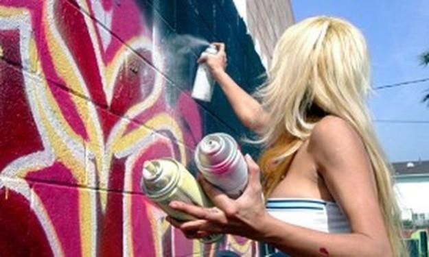 Gioco sulla spray art