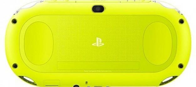 Nuova PS Vita gialla