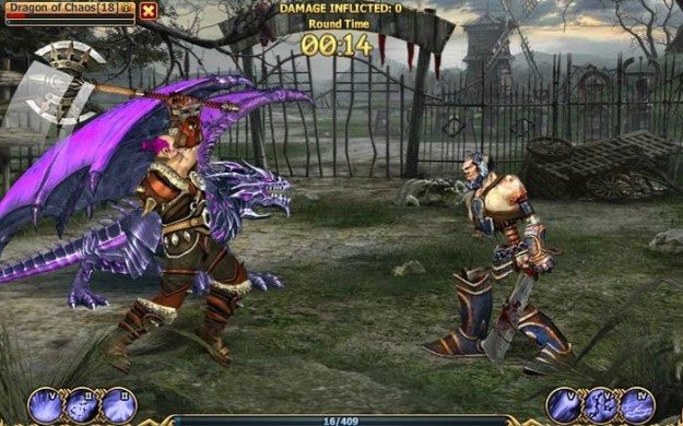 Grafica di Dragon Eternity