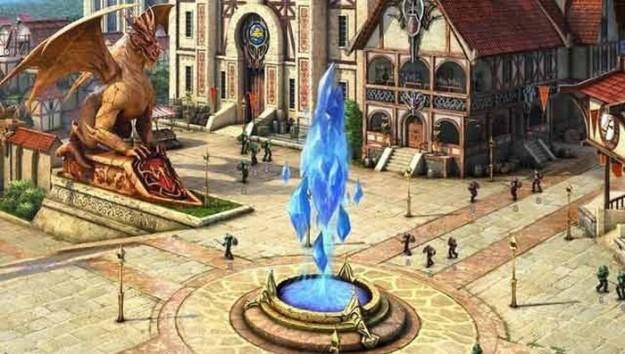 Ambientazione di Dragon Eternity