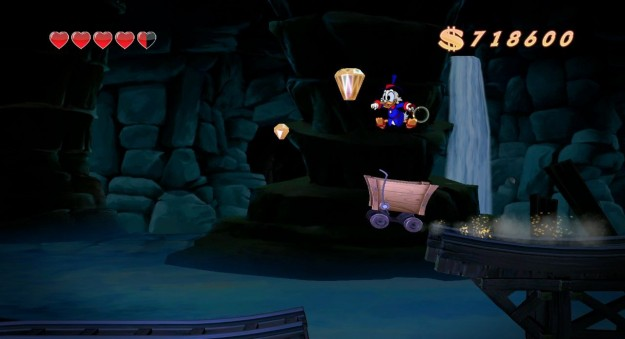 Ambientazione misteriosa in DuckTales Remastered