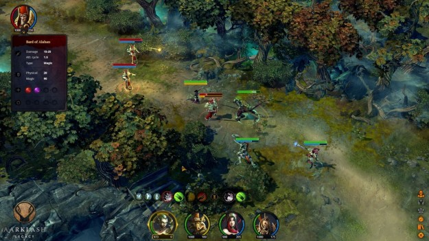 Azione in Aarklash Legacy