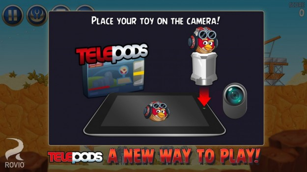 Telepods di Angry Birds Star Wars 2