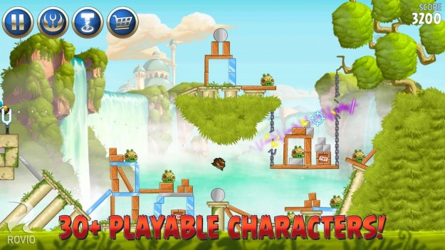 Ambientazione di Angry Birds Star Wars 2