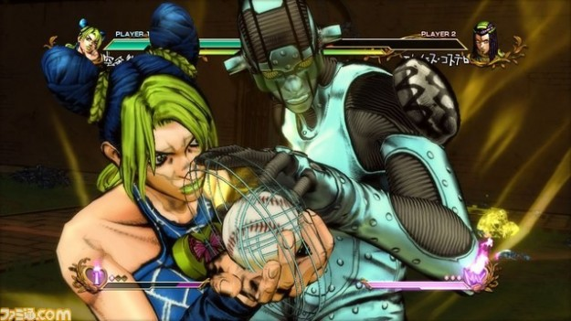Azione in JoJo's Bizarre Adventure All Star Battle