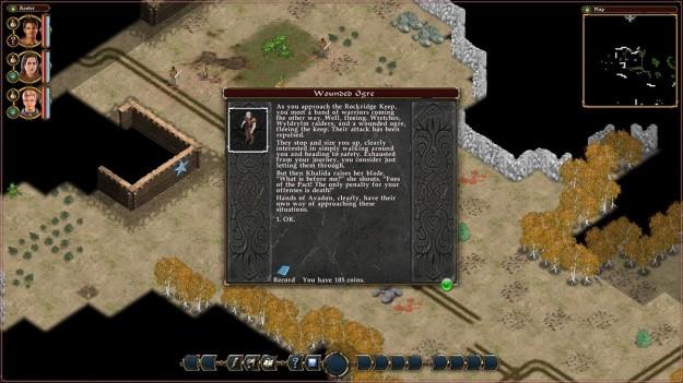 Screenshot di Avadon 2