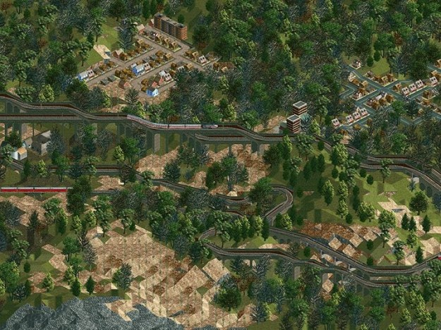 Grafica di Transport Tycoon