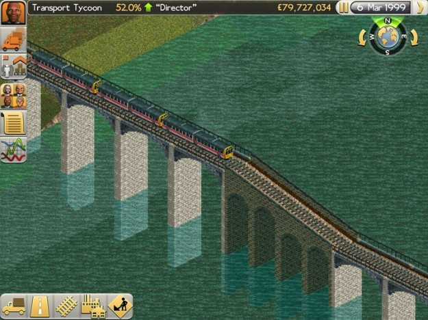 Screenshot di Transport Tycoon