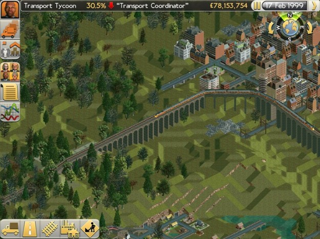 Ambientazione di Transport Tycoon