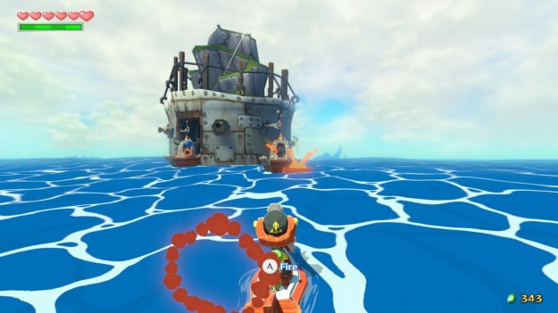 Screenshot di The Legend of Zelda The Wind Waker HD