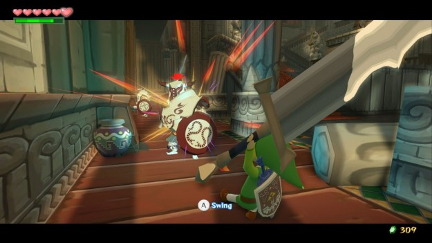 The Legend of Zelda The Wind Waker HD per Wii U