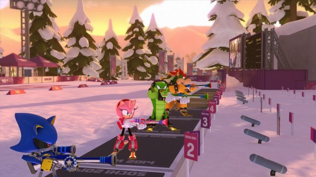 Sport in Mario e Sonic ai Giochi Olimpici Invernali di Sochi 2014