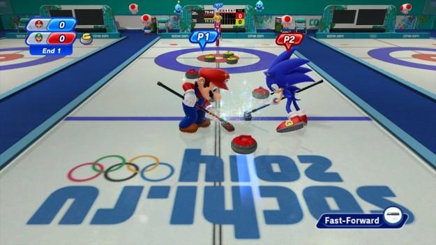 Mario e Sonic ai Giochi Olimpici Invernali di Sochi 2014: immagini