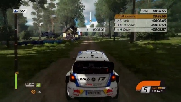 Screenshot di WRC FIA World Rally Championship 4