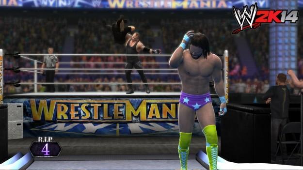 Grafica di WWE 2K14