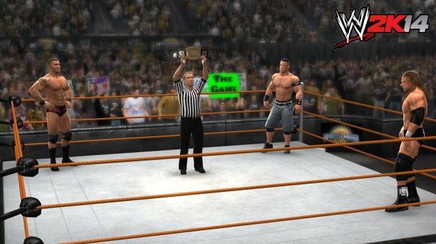 Ring di WWE 2K14