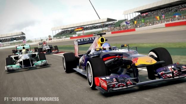 Auto in F1 2013