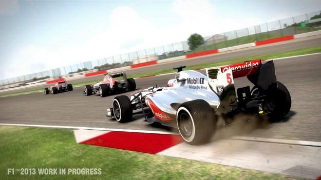 Corsa in F1 2013