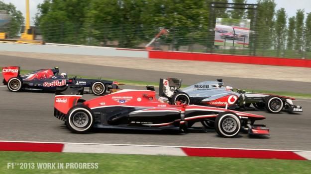 Screenshot di F1 2013