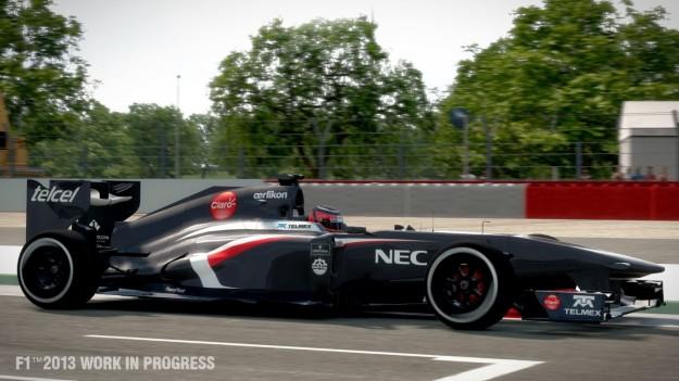 Vettura in F1 2013