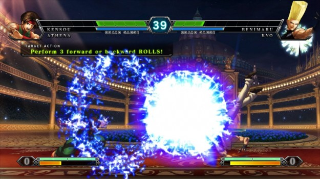 Screenshot di The King of Fighters XIII