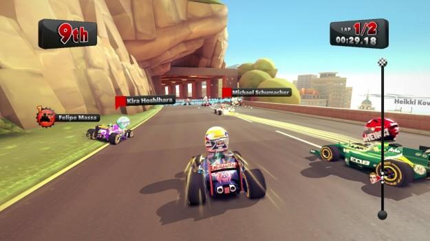Corsa in F1 Race Stars