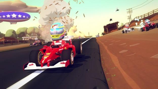 F1 Race Stars per Wii U