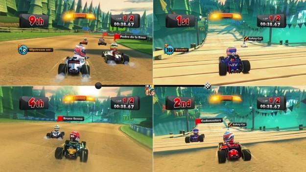 Risultati in F1 Race Stars