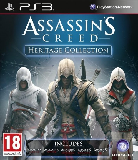 Assassin's Creed Heritage Collection per PS3
