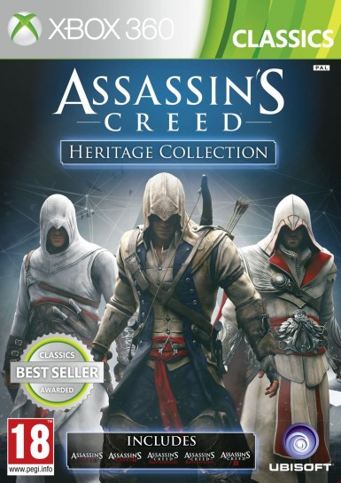 Assassin's Creed Heritage Collection per Xbox 360