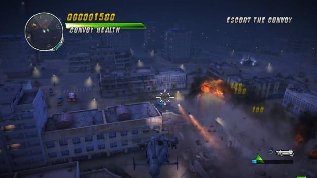 Screenshot di Thunder Wolves