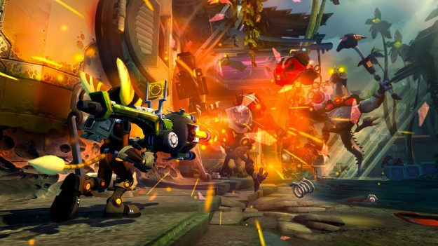 Azione in Ratchet & Clank Nexus