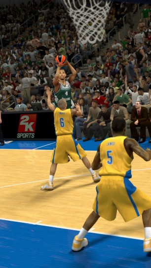 Grafica di NBA 2K14