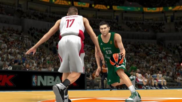 In campo in NBA 2K14