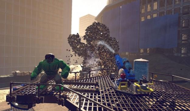 Grafica di LEGO Marvel Super Heroes