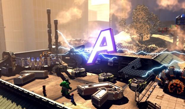 Screenshot di LEGO Marvel Super Heroes